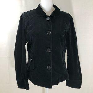 ❤️ 3/20 Bamboo Trader Black Corduroy Jacket